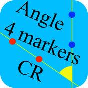 4点-角度 可動域測定 CR 1