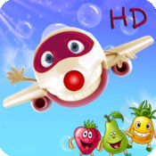 Aviator:飞行员:水果和数字:学前班数学-孩子们的游戏 Free HD