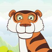动物的拼图游戏学习对幼儿的孩子3年 1