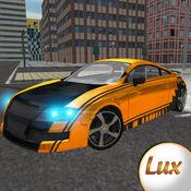 极速豪华涡轮增压汽车快比赛驾驶模拟器