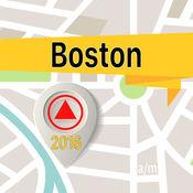 波士顿 离线地图导航和指南 1