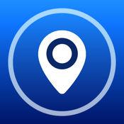 曼谷离线地图+城市指南导航,景点和交通工具