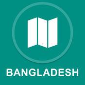 孟加拉国 : 离线GPS导航 1