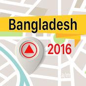 孟加拉国 离线地图导航和指南 1