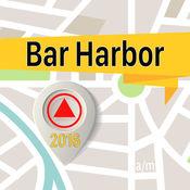 Bar Harbor 离线地图导航和指南 1