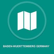 巴登 - 符腾堡州德国 : 离线GPS导航 1