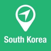 大指南 韩国 地图+旅游指南和离线语音导航 1