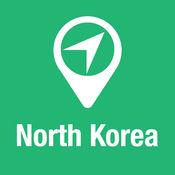 大指南 北朝鲜 地图+旅游指南和离线语音导航 1