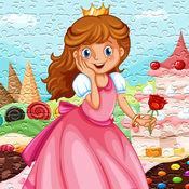 拼图游戏公主成年的孩子和幼儿 1.1