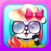 宝贝宠物兽医和装扮熊猫 - 小玩具熊沙龙虚拟为女孩免费 1.