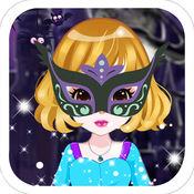 万圣节主题舞会-甜心美少女的换装游戏 1