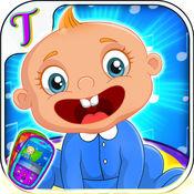 婴儿电话为儿童 - 教育学习节奏游戏 1