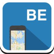 比利时布鲁塞尔 离线地图,指南,天气,酒店。免费导航。GPS 1