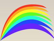 彩虹贴纸:自然的美丽奇迹