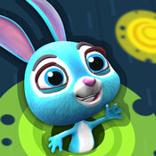 跳跃的兔子 - 有趣的大脑训练 谜平台 1