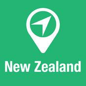 大指南 新西兰 地图+旅游指南和离线语音导航