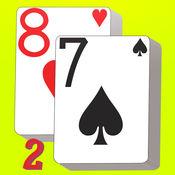 扑克接龙2(推推通通) - 考验观察力 - 要点小耐心 9.3