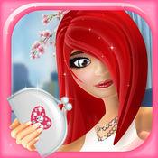 时尚装扮女孩游戏:时装模特: 美容美发 和 化妆工作室 免费
