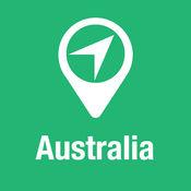 大指南 澳大利亚 地图+旅游指南和离线语音导航 1