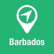 大指南 巴巴多斯 地图+旅游指南和离线语音导航 1