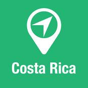 大指南 哥斯达黎加 地图+旅游指南和离线语音导航 1