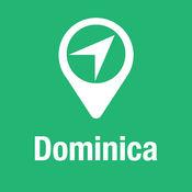 大指南 多米尼加 地图+旅游指南和离线语音导航 1