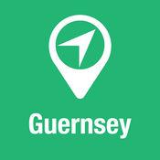 大指南 格恩西岛 地图+旅游指南和离线语音导航 1