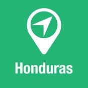 大指南 洪都拉斯 地图+旅游指南和离线语音导航 1