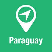 大指南 巴拉圭 地图+旅游指南和离线语音导航 1