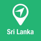 大指南 斯里兰卡 地图+旅游指南和离线语音导航 1