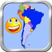 南美洲地图拼图 1.1