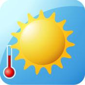 空气温度计+您的手机变成一个温度计 1