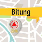 Bitung 离线地图导航和指南 1