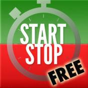 开始停止免费秒表! 1