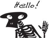 Skeleton Cute贴纸,设计:wenpei 2.0.1