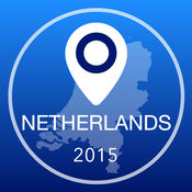 荷兰离线地图+城市指南导航,景点和运输 2.5