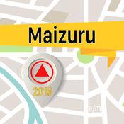 Maizuru 离线地图导航和指南 1