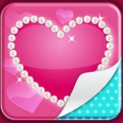 可爱粉背景对于女孩 - 花式版图片对于家庭和锁屏 1.2