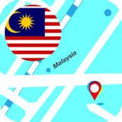 马来西亚离线地图 2