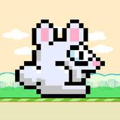 跳跃兔子 - 找到假日复活节彩蛋来改变跳跃复活节兔子的颜