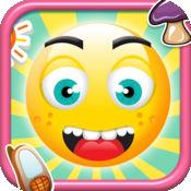 Emoji表情快乐跳跃 - 一个超级跳跃游戏免费版  Happy Emoj