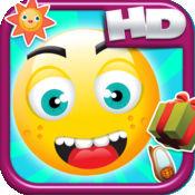 跑马Emoji表情跳转HD - 超级跳版免费游戏! Happy Emoji Jum