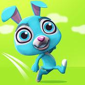 兔子 Jumpy: 兔子跳跃和穿过森林运行 1