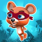 从丛林忍者熊 跳跃比赛 – 有趣的亚军和跳线异国岛屿的冒