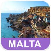 马耳他 离线地图 - PLACE STARS v1.1