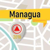 馬納瓜 离线地图导航和指南 1