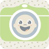 BabySmileHD - 以漂亮的宝宝的照片带微笑和眨眼检测,使用您的相机