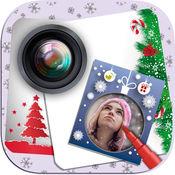 圣诞节老人贴纸相框相机 - 纪念日贺卡片祝福语短信息 1.2