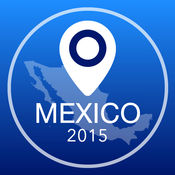 墨西哥离线地图+城市指南导航,景点和运输 2.5