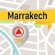Marrakech 离线地图导航和指南 1